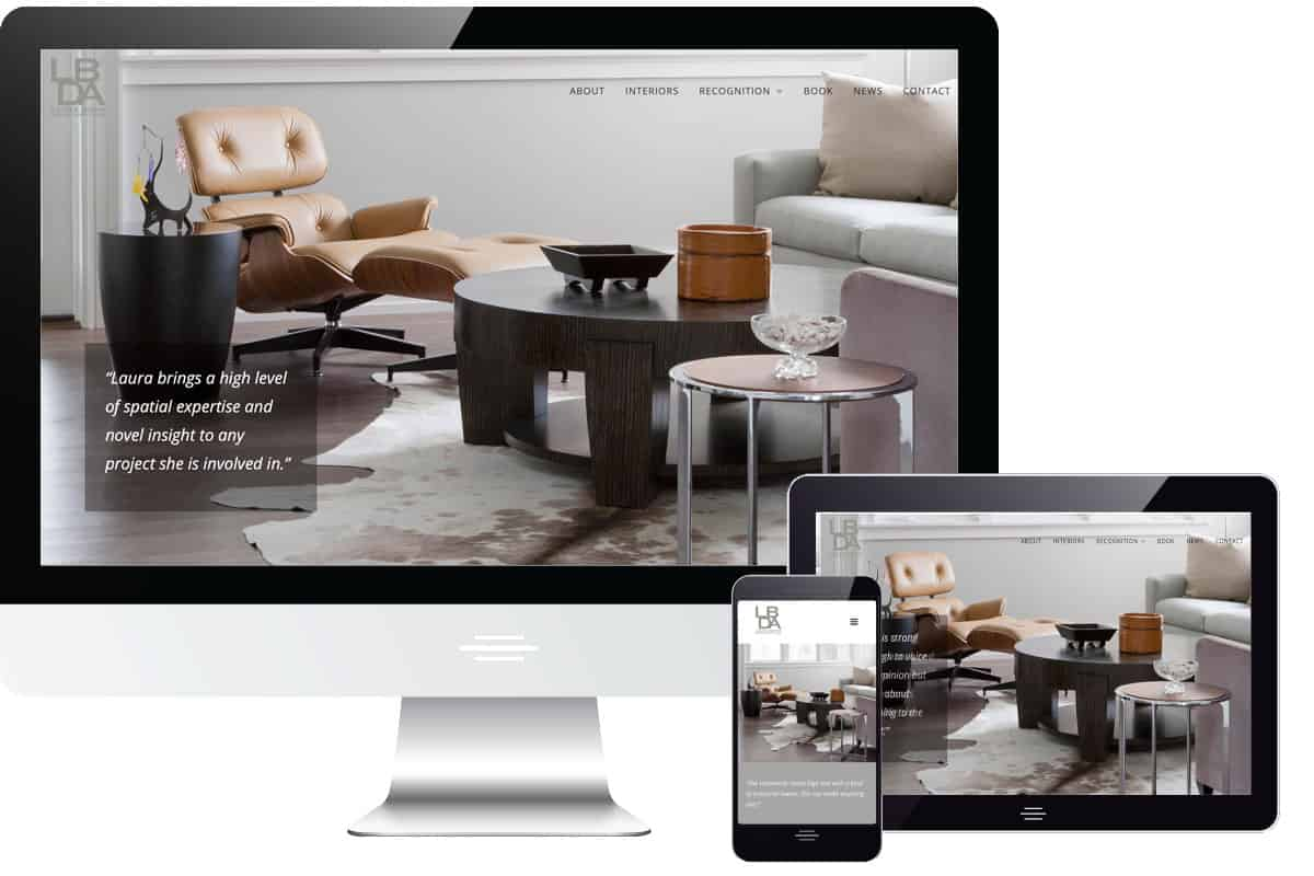 Laura Bohn Design Assoc. Website