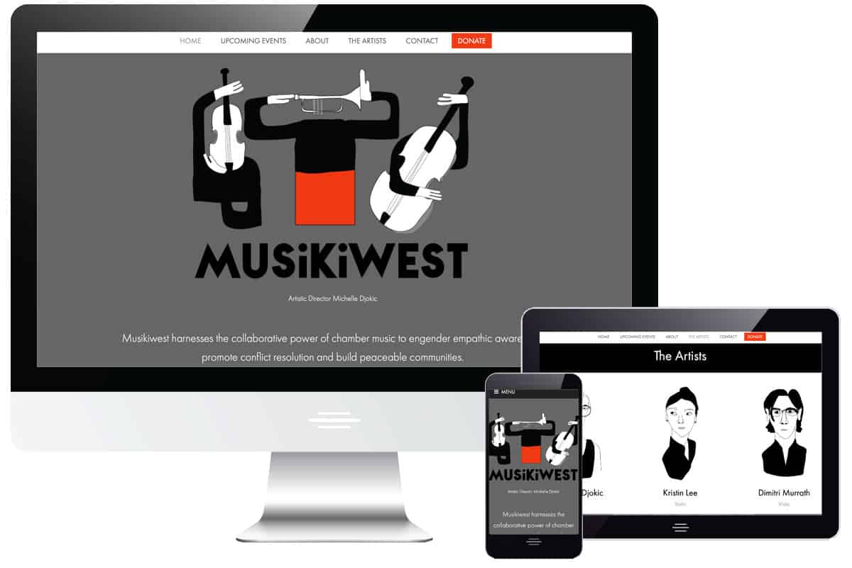 Musikiwest Website
